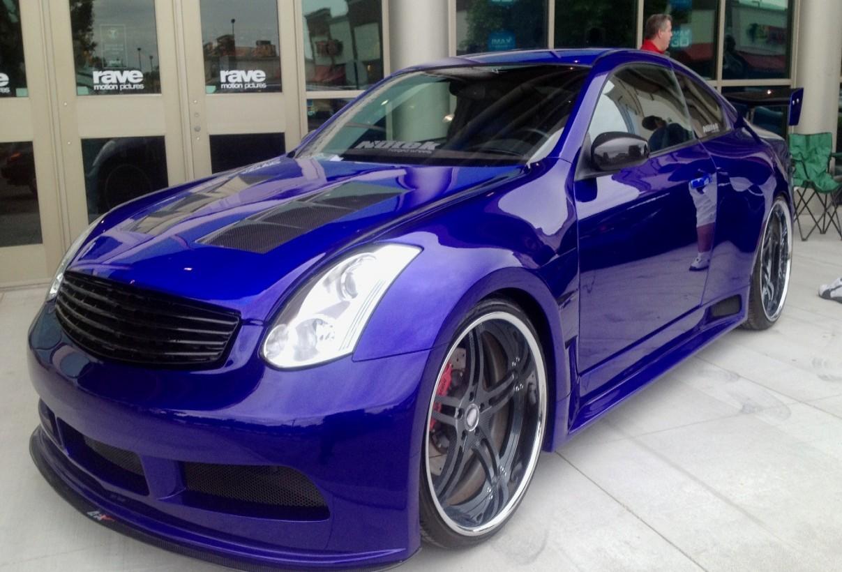 Custom paint body aerodynamic applications for Custom paint and body